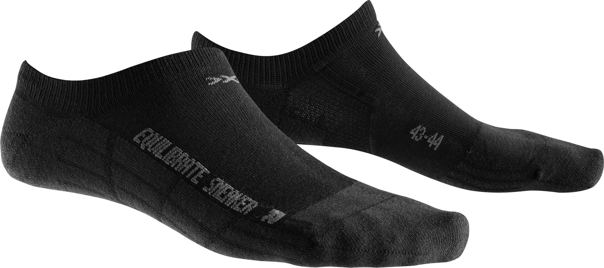 X-SOCKS Socken, Strümpfe Sneaker Equilibrate Schwarz unisex von Gr. 39 - 46 S17-XS1
