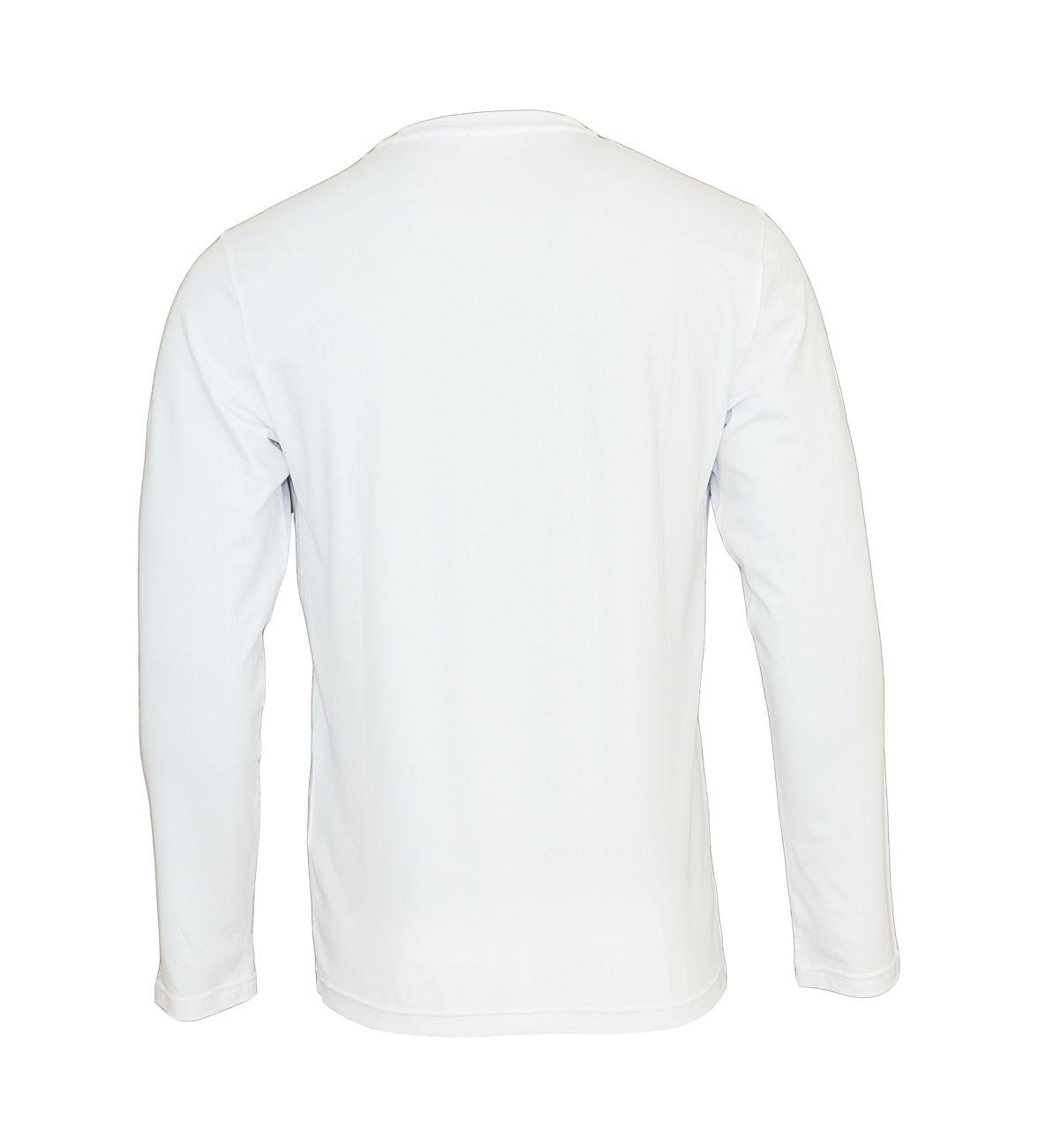 Emporio Armani Longsleeve Rundhals Shirt 111653 8A720 00010 BIANCO WX18-EAX