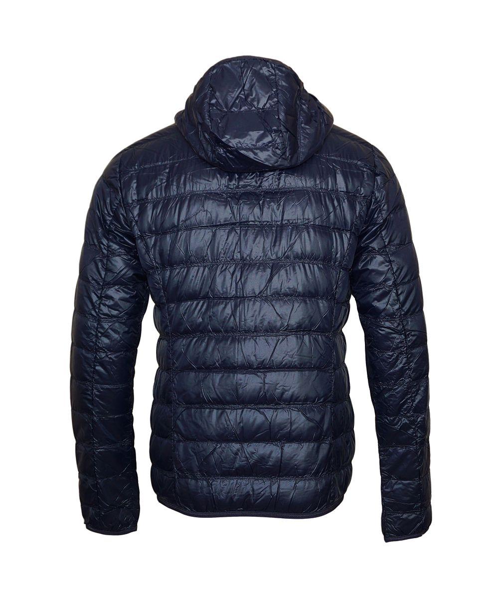EA7 Jacke Down Jacket mit Kapuze 8NPB02 PN29Z 1578 Blu Notte Emporio Armani SH17-WJ1