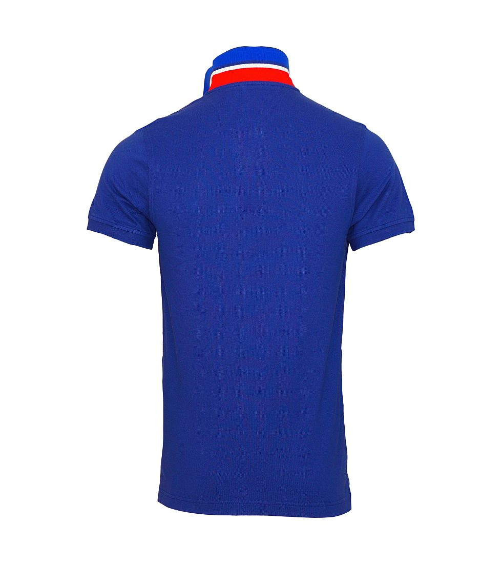 TOMMY HILFIGER Shirt Polohemd Poloshirt Polo blau 0857894237 470 TH16