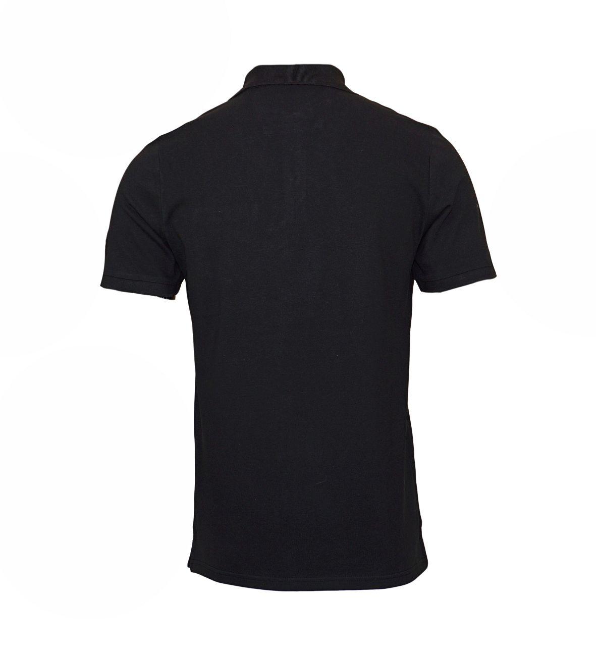 Daniel Hechter Poloshirt Polohemd 75021 181921 990 schwarz F18-DHP1