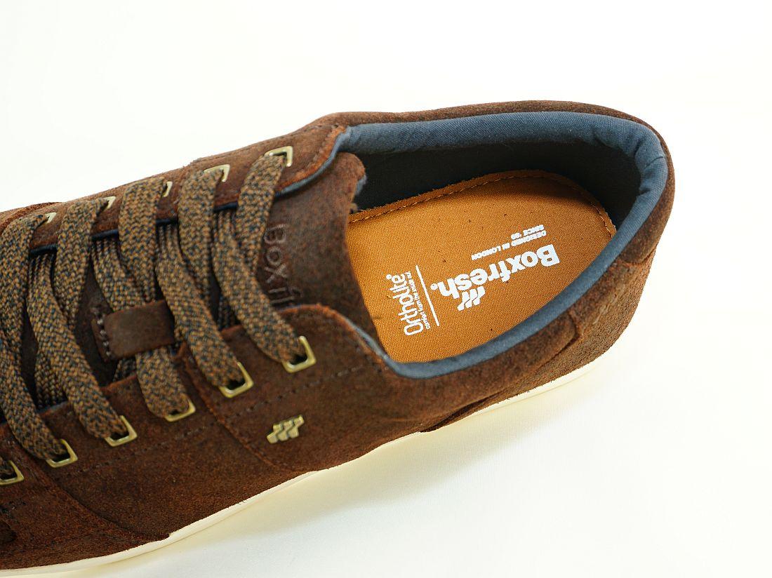 Boxfresh Schnürschuhe Schuhe Spencer SH WXD SDE E-14791 Dunkelbraun Navy Sneaker SH17-BFS1