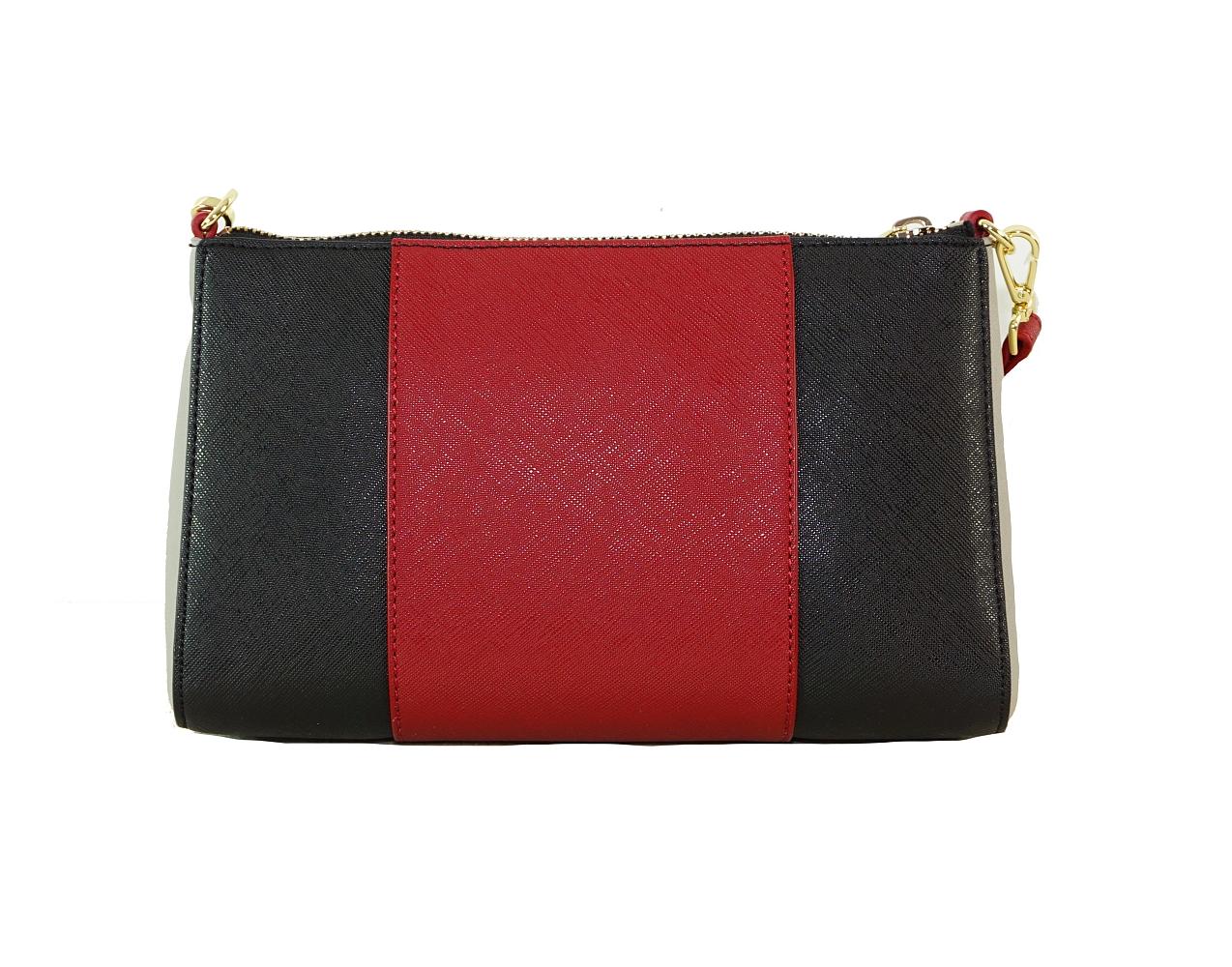 Armani Jeans Tasche Handtasche f. Damen 922544 CC857 07276 burgundy nero HW16