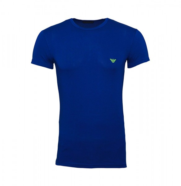 Emporio Armani T-Shirt Rundhals 111035 9P723 15834 blau FS19-EAT1
