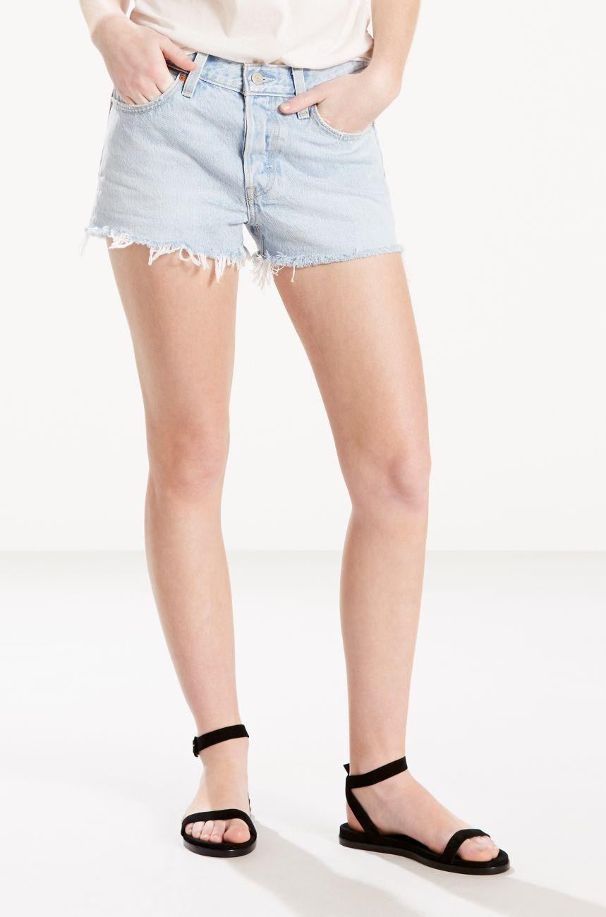 Levis Shorts Jeansshort 32317-0068 501 SHORT BOWIE BLUESHORT W18-LJS1