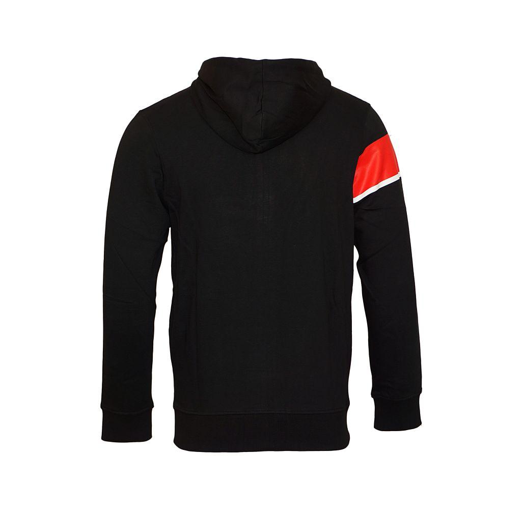 Jack & Jones Jacke Trainingsjacke Sweater schwarz Jcomove Sweat Hood Zip