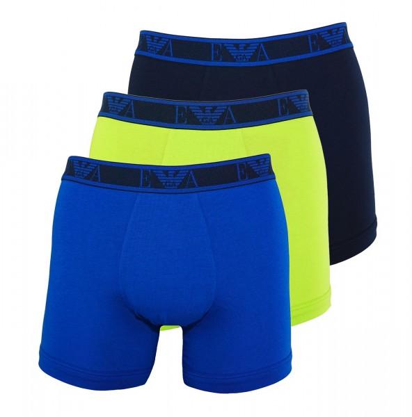 Emporio Armani 3er Pack Boxer Shorts 111473 9A715 09782 multicolor SH19-AB1