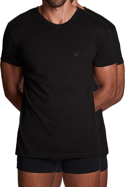 Gant 2er Pack Basic T-Shirts mit Rundhals 2108 BLACK SH18-GT1