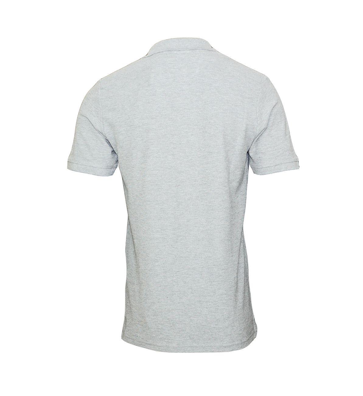 Daniel Hechter T-Shirt Poloshirt Polo 75101 181990 910 grau silver F18-DHP2
