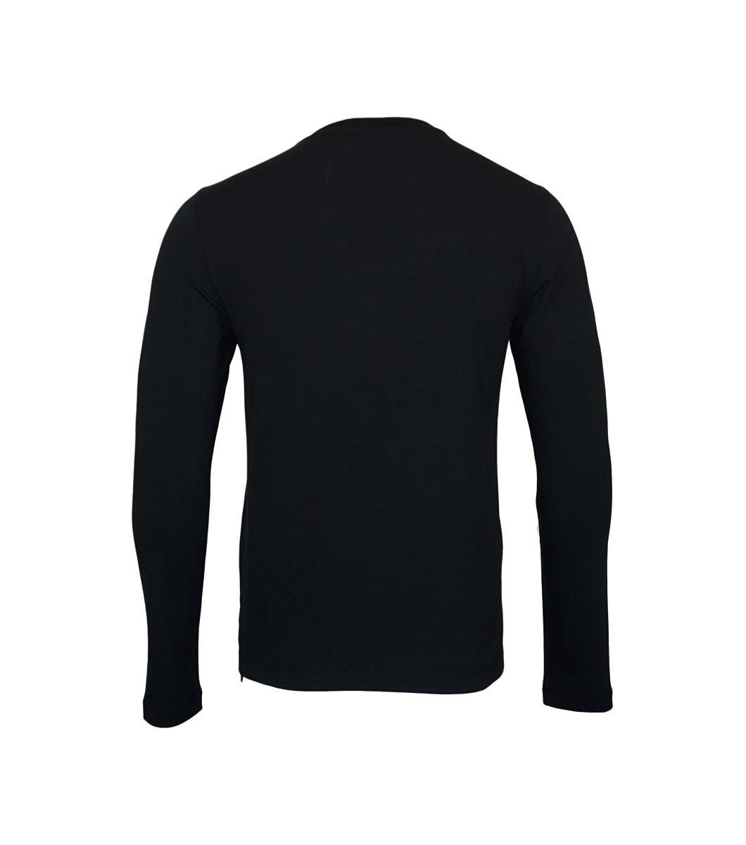 EA7 Emporio Armani Longsleeve Shirt 6YPTB3 PJ20Z 22BN Black White HW17-EALS1