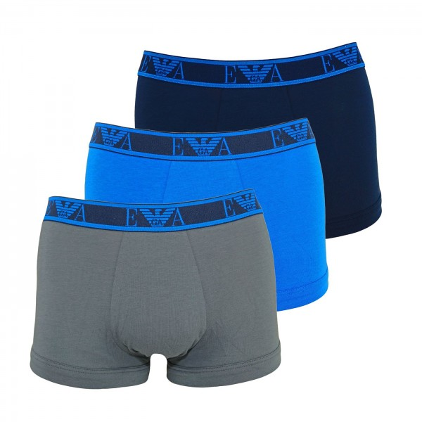 Emporio Armani 3er Pack Trunk 111357 0P715 66635 navy, blue, grey WF20-EA2