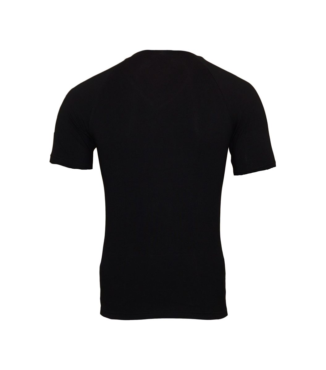 Emporio Armani T-Shirts V-Ausschnitt 111760 8P725 00020 NERO W18-EATS1