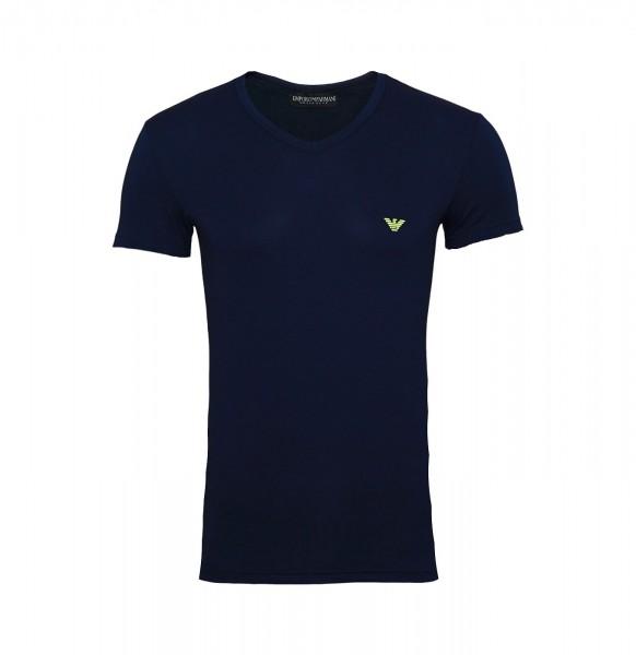 Emporio Armani T-Shirt V-Neck 110810 9P723 00135 navy FS19-EAT1