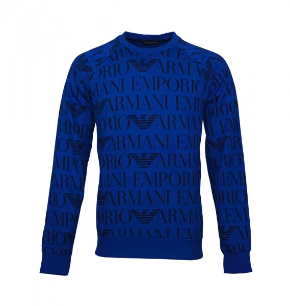 Emporio Armani Pullover Sweater Rundhals 111062 9P566 16734 dunkelblau WF19-EAP1