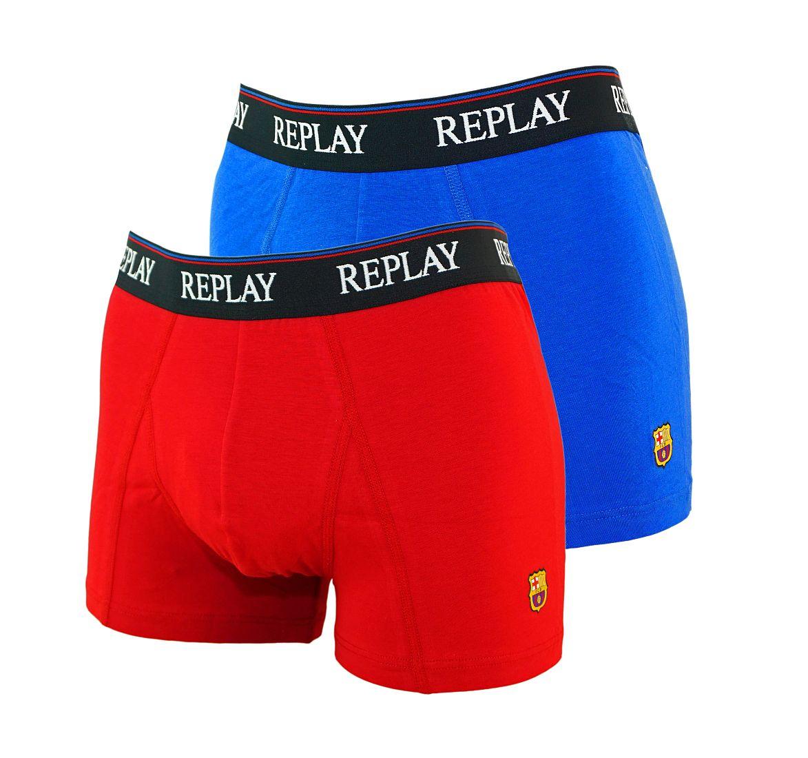 REPLAY 2er Pack Shorts Unterhosen Trunks M251143 B18 FS17-RPS1