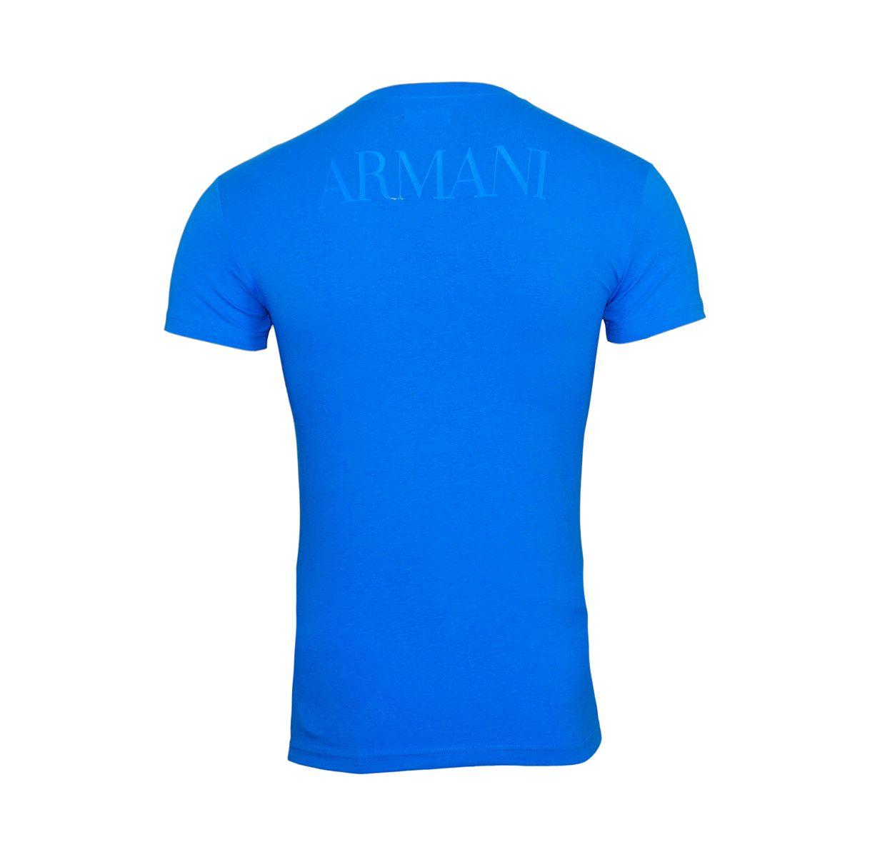 Emporio Armani T-Shirt Rundhals 111035 8P516 20833 CIELO W18-EATS1