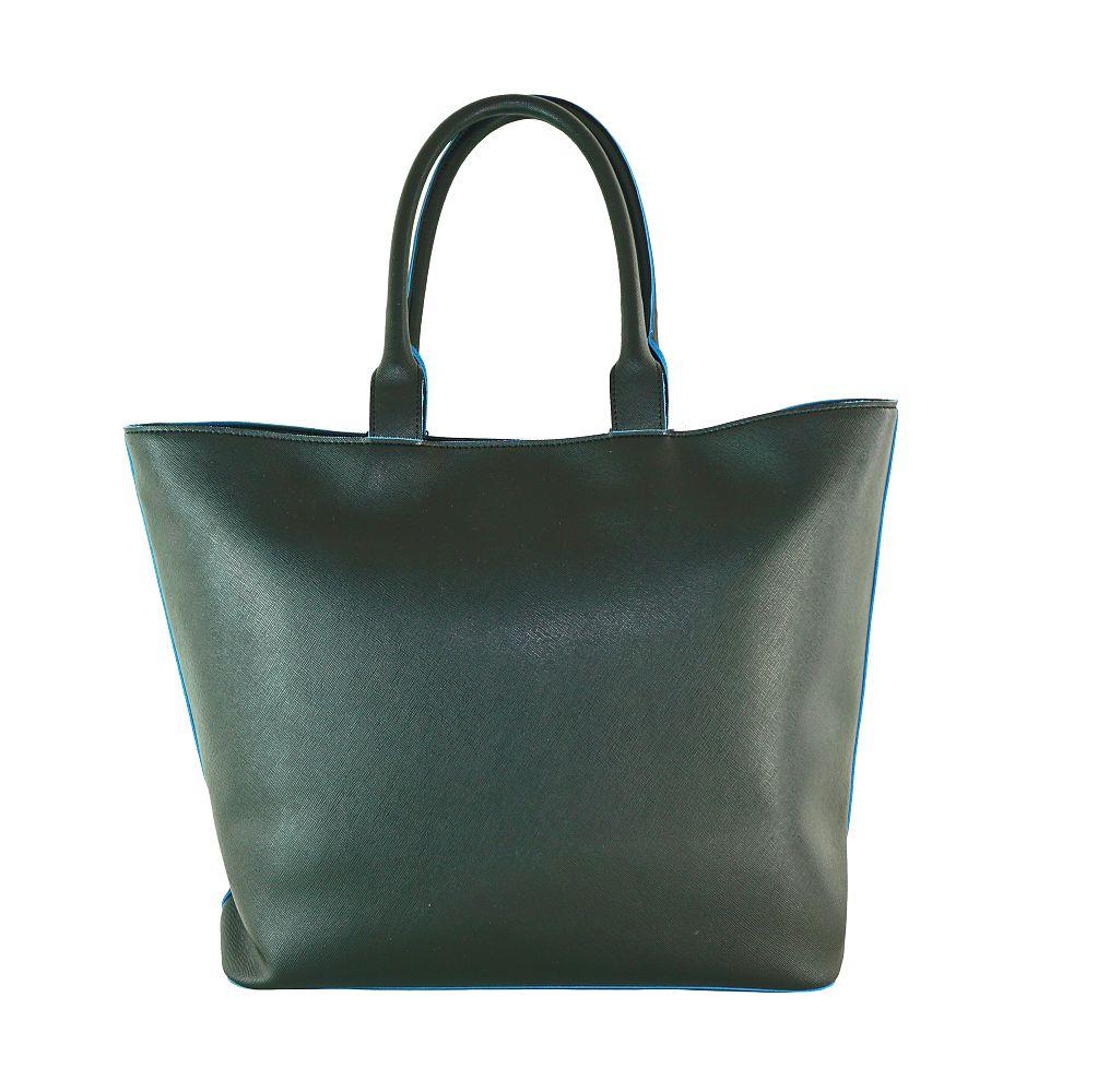 Armani Jeans Tasche Borsa Shopping 922535 CC856 00220 Nero Handtasche S17-AJT1