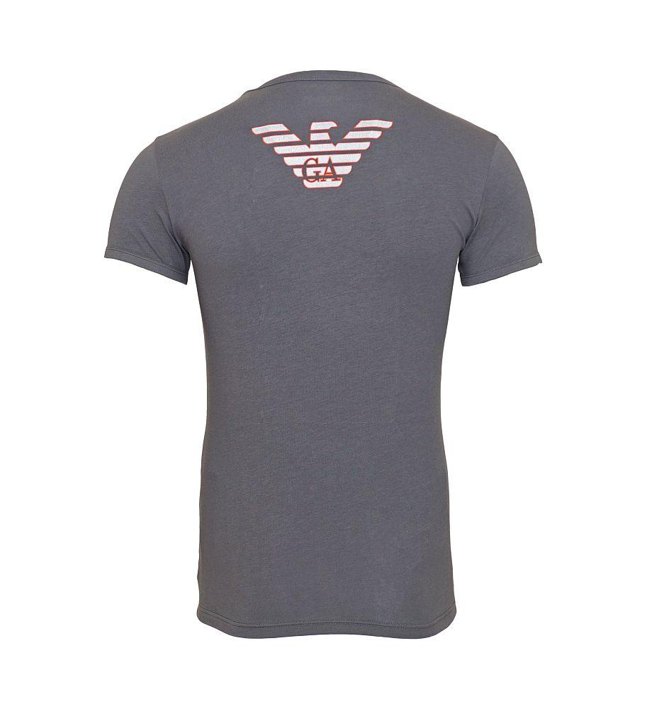 EMPORIO ARMANI T-Shirt Shirt dunkelgrau 111035 6A725 00044 ANTRACITE HW16-EA-1