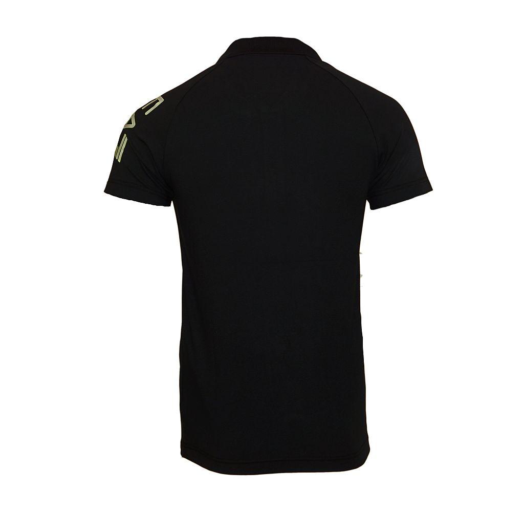 EA7 EMPORIO ARMANI Shirt T-Shirt Poloshirt TRAIN VISIBILITY M T schwarz 277010 6P209 00020