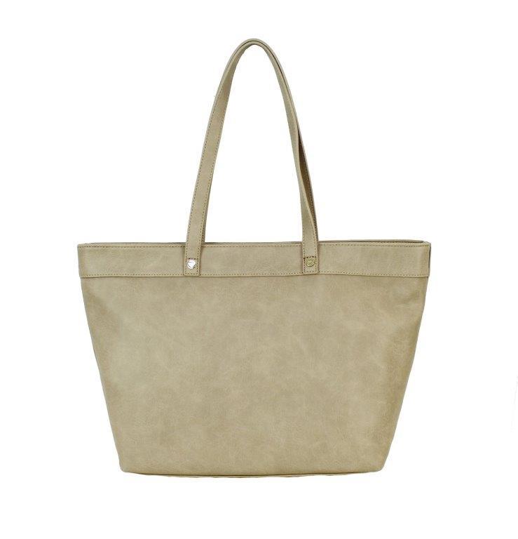 Armani Tasche Damentasche Henkeltasche Shopper 0525F Grigio Chiaro