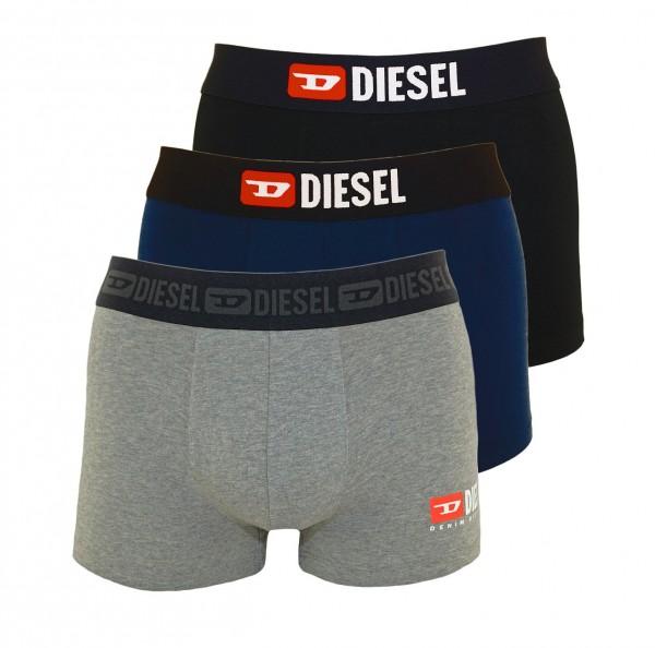 Diesel 3er Pack Boxer DAMIEN OOST3V OTAVG E4125 black, navy, grey SS19-DB3