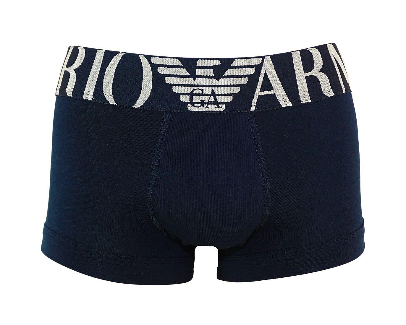 Emporio Armani Trunk Shorts Unterhose MARINE 111389 7P516 00135 WF17-EAT1