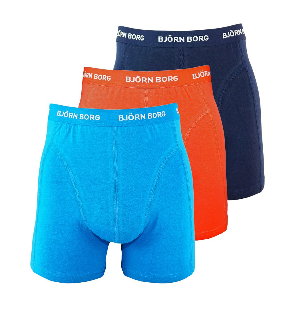 Björn Borg Shorts 3er Pack Boxershorts 1711-1174 70011 navy blau rot S17-BJS1