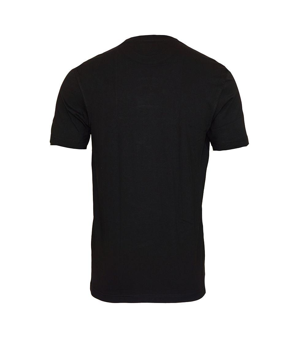 Daniel Hechter 2er Pack T-Shirts Shirts schwarz Rundhals 10283 472 90 HW16SP