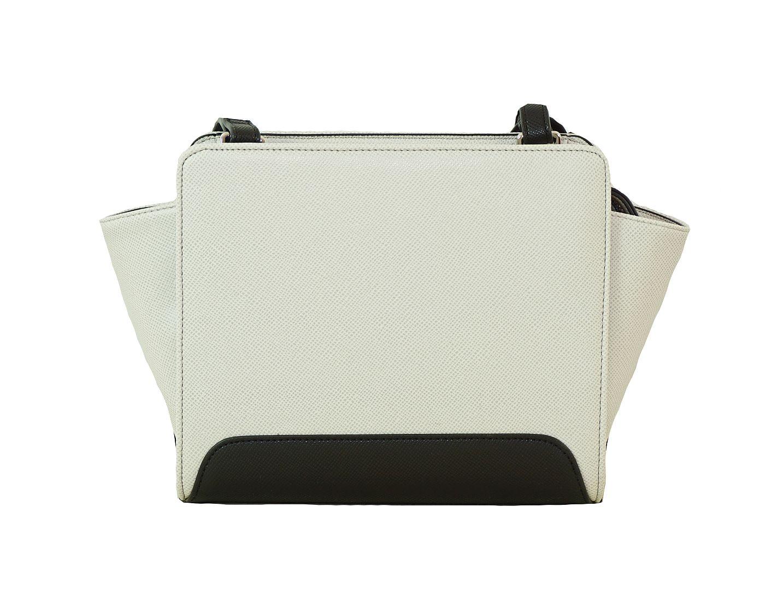 Armani Jeans Tasche Handtasche f. Damen C5251 R4 10 Bianco HW16