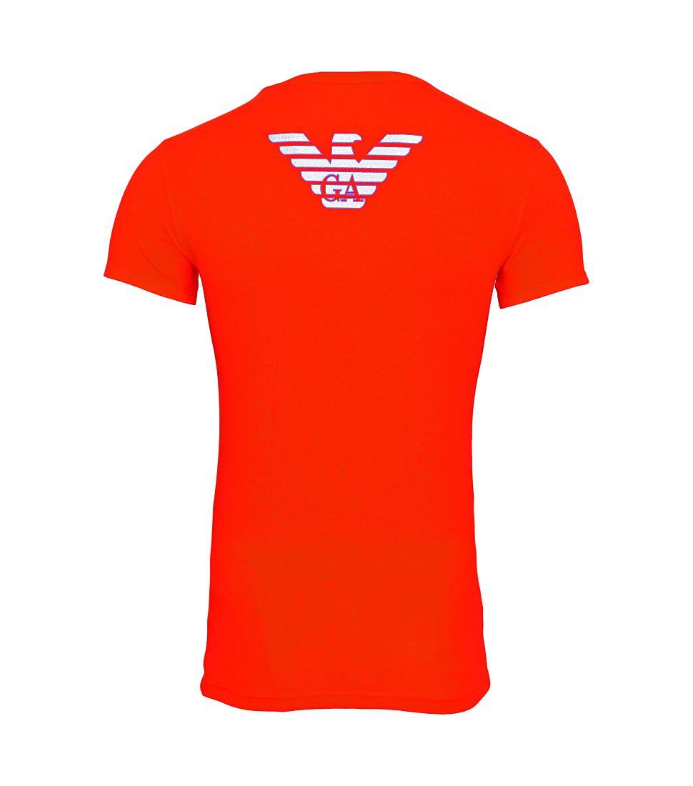 Emporio Armani Shirt T-Shirt rot KNIT T-SHIRT 111035 6A725 00074 rosso HW16A1