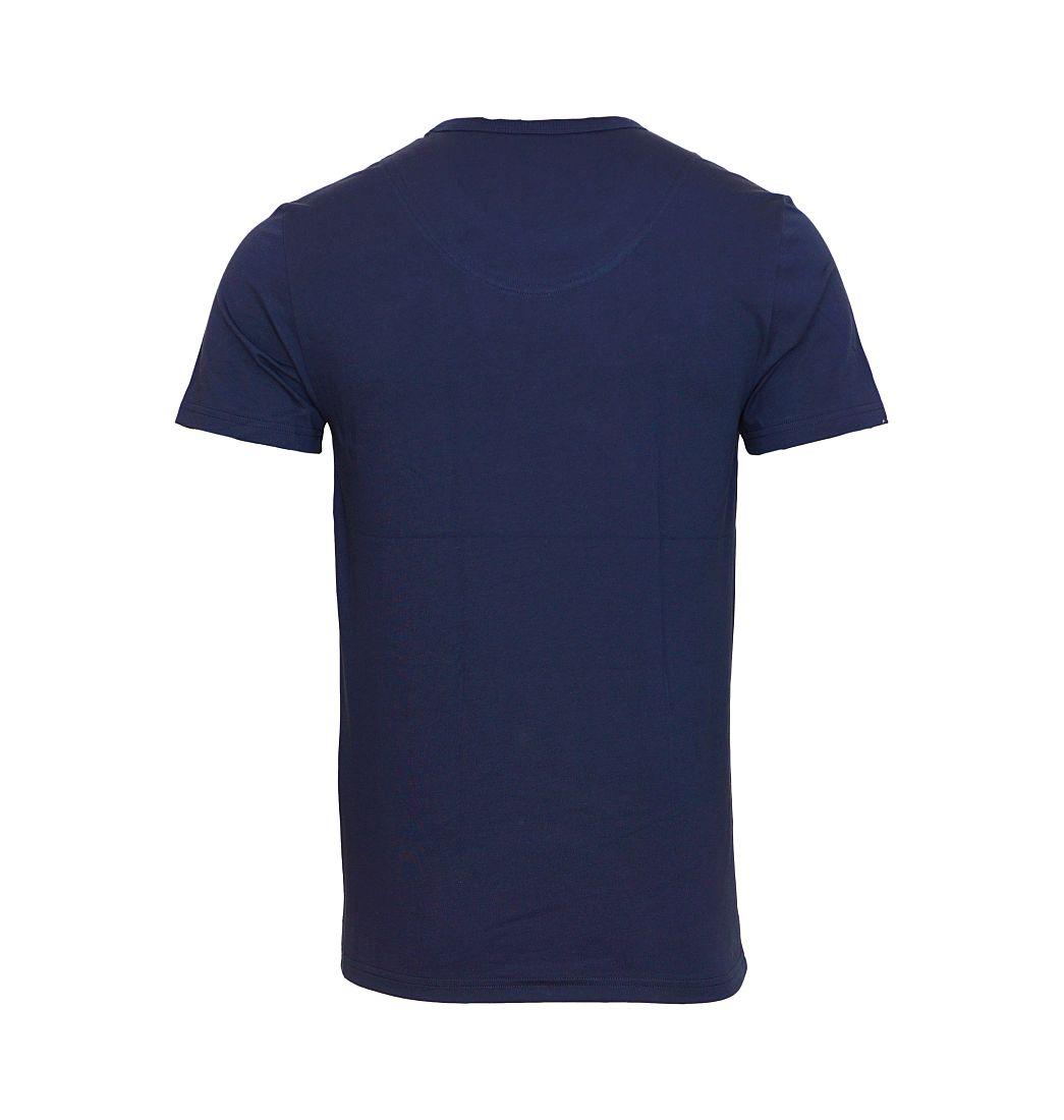 EMPORIO ARMANI T-Shirt Shirt Rundhals 110853 6A508 00135 MARINE HW16