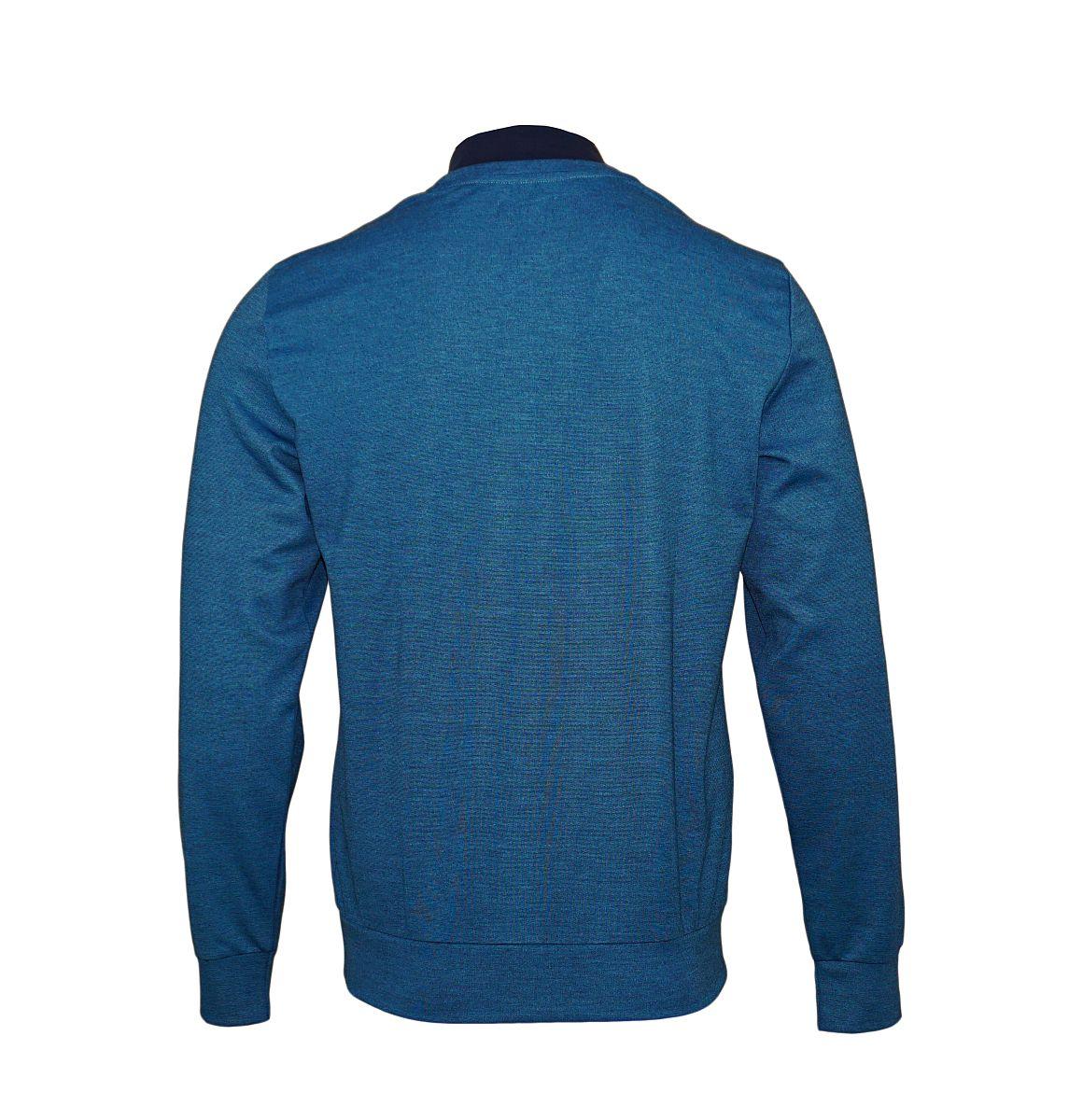 Emporio Armani Pullover Rundhals Sweater 111437 7A561 17132 BLU CAD/MARINE HW17-EAS1
