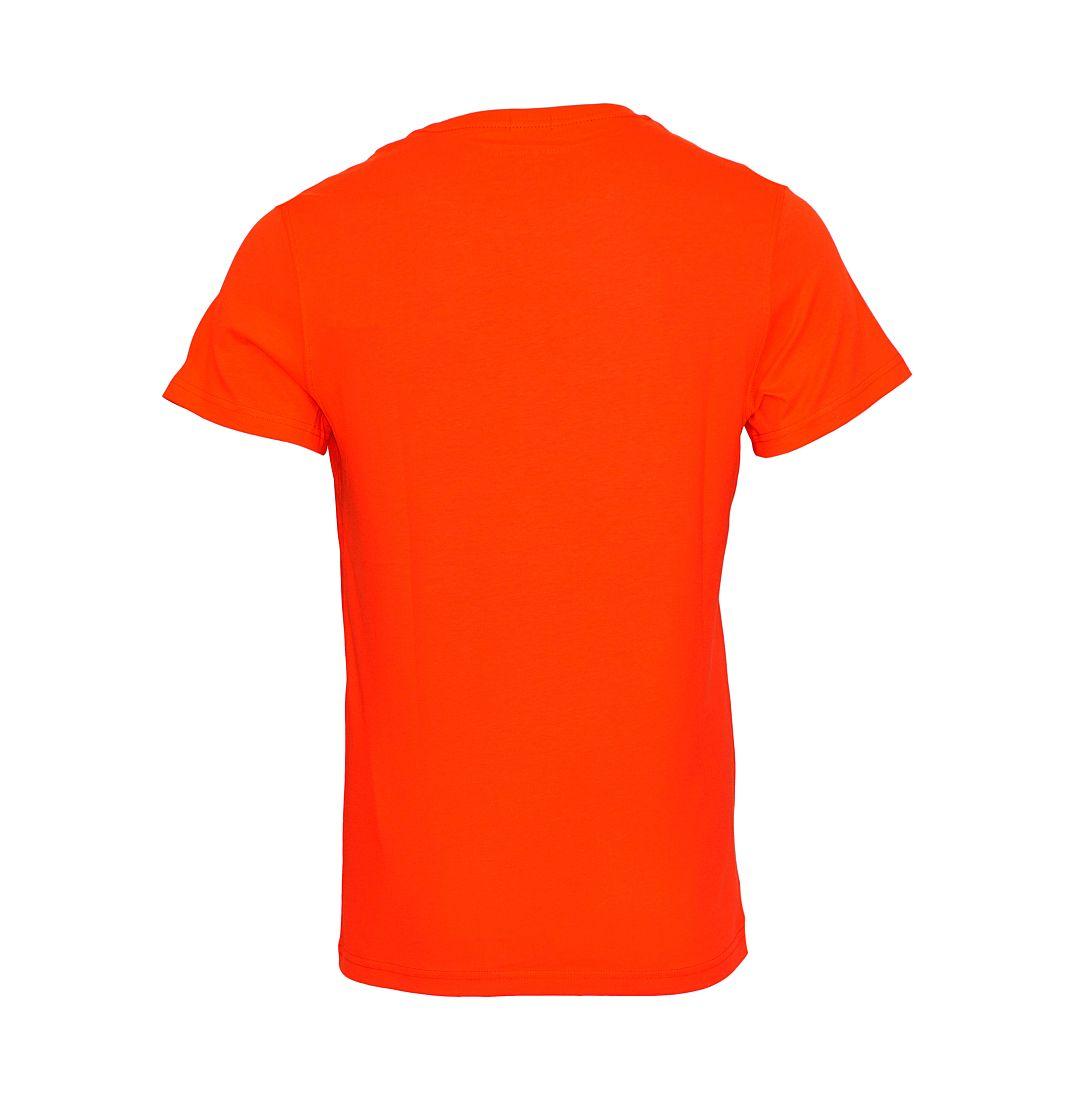 TOMMY HILFIGER Shirt T-Shirt rot Organic Cotton cn Tee 2S87905390 642