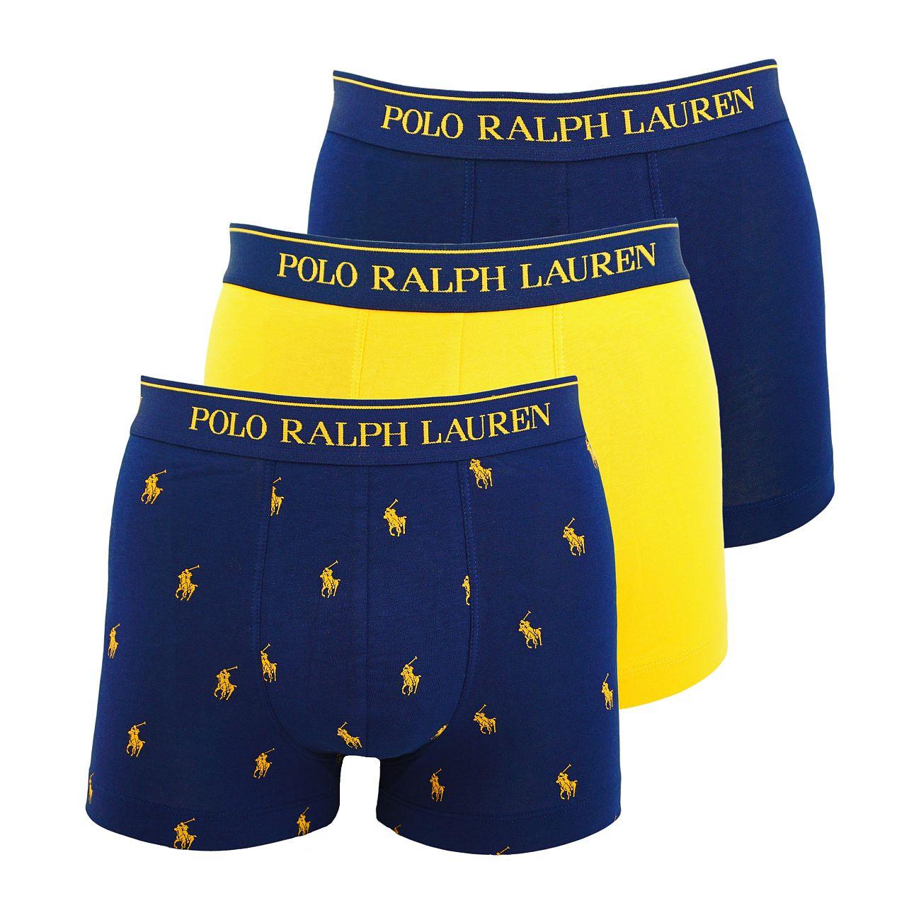 Ralph Lauren 3er Pack Classic Trunks Multicolor 714662050017 S18-RLT1