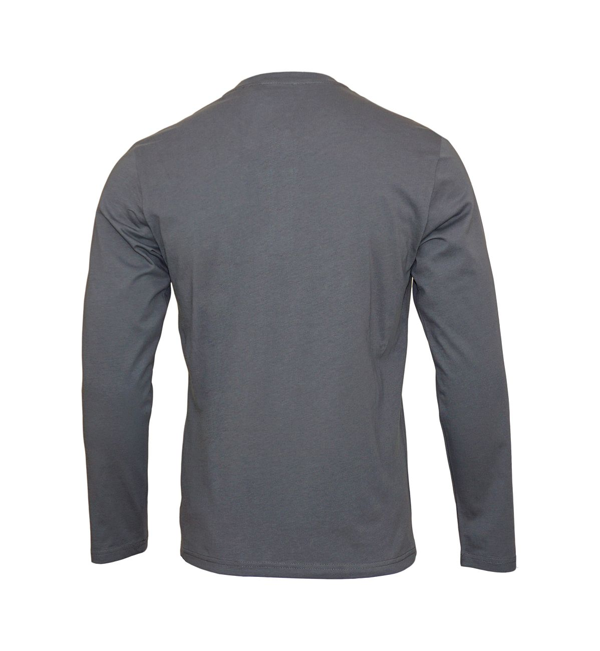 Emporio Armani Longsleeve Henley Sweater 111817 8A576 00044 ANTRACITE WX18-EAL