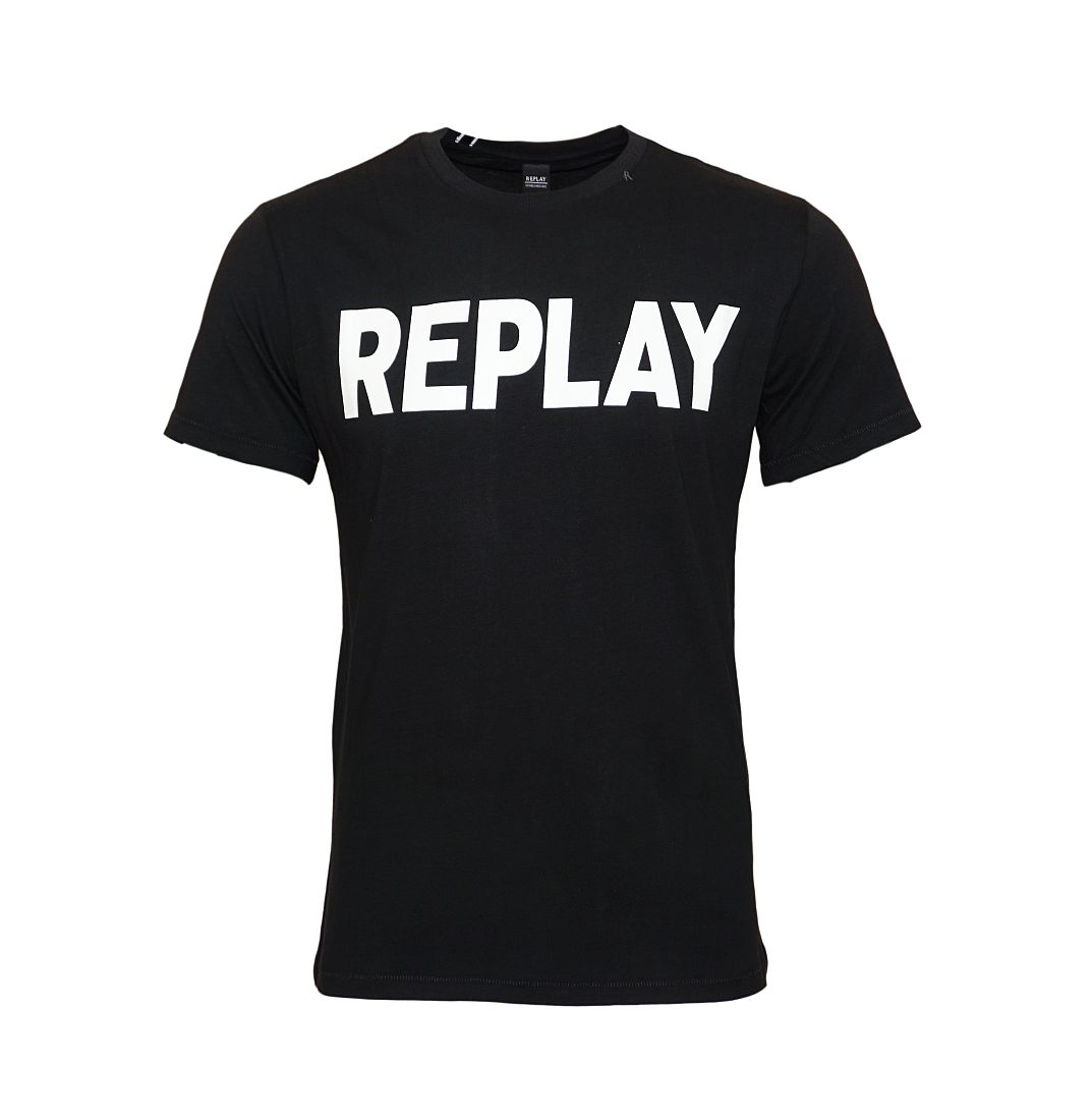 Replay T-Shirt Rundhals M3361 000 2660 098 schwarz W18-RYT1
