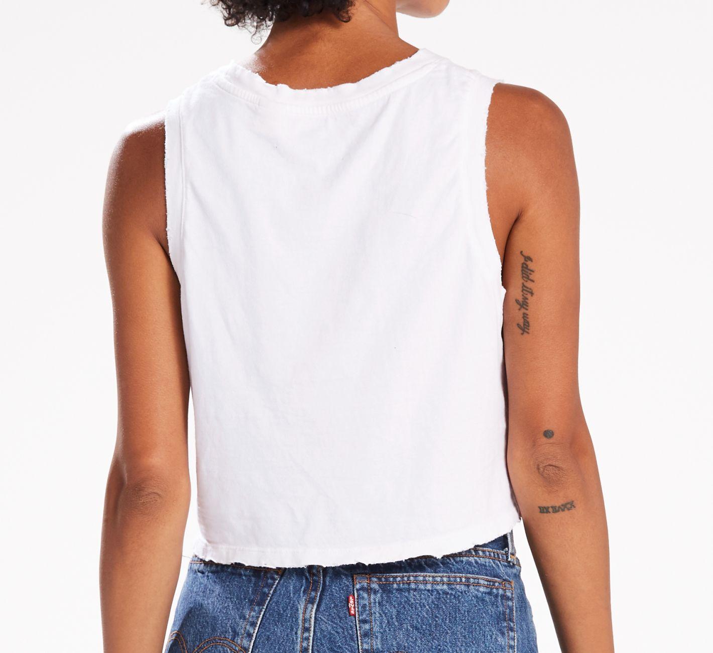 Levis Shirt TANKSPORT 39810-0000 weiss W18-LDS1
