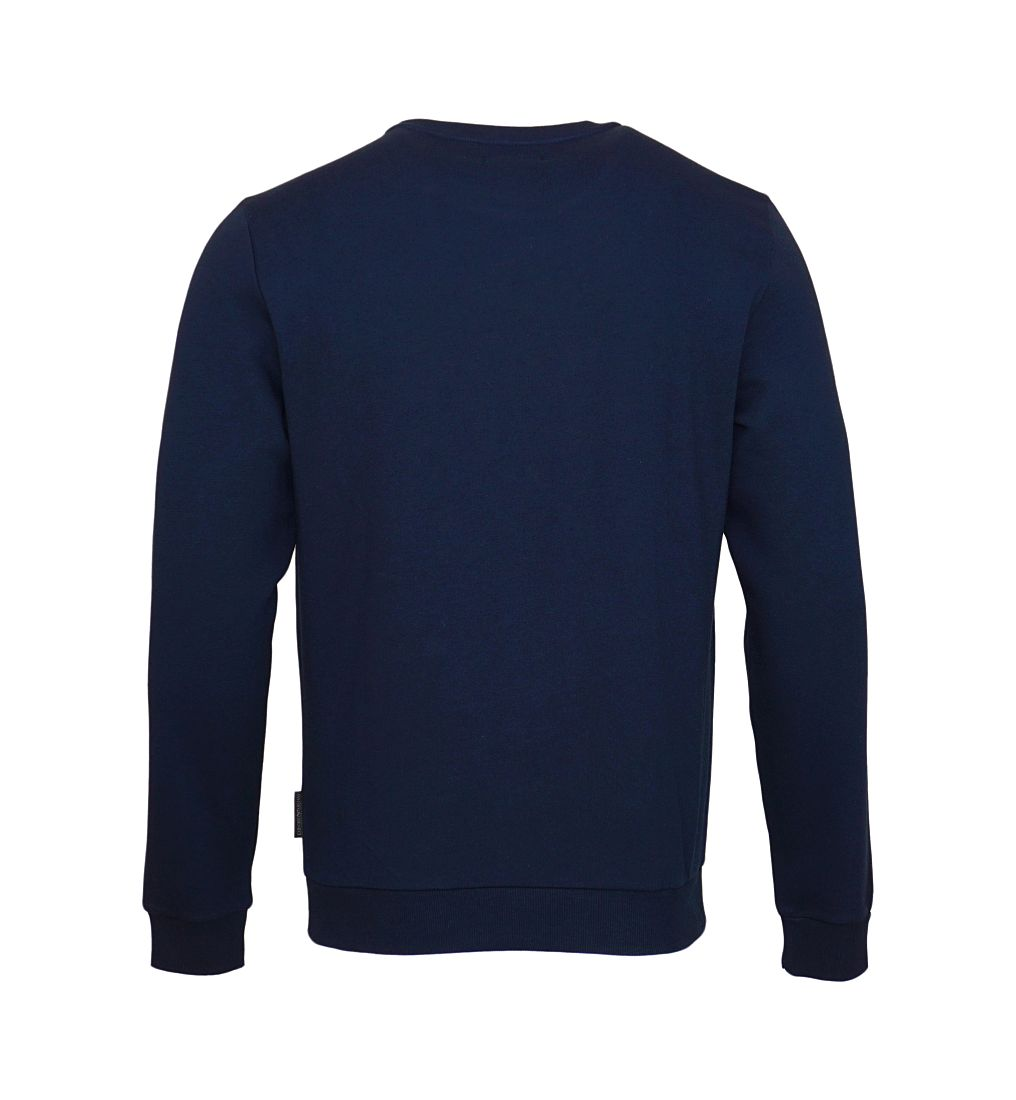 Emporio Armani Pullover Sweater Rundhals 111720 7A571 00135 MARINE SH17-EASW1