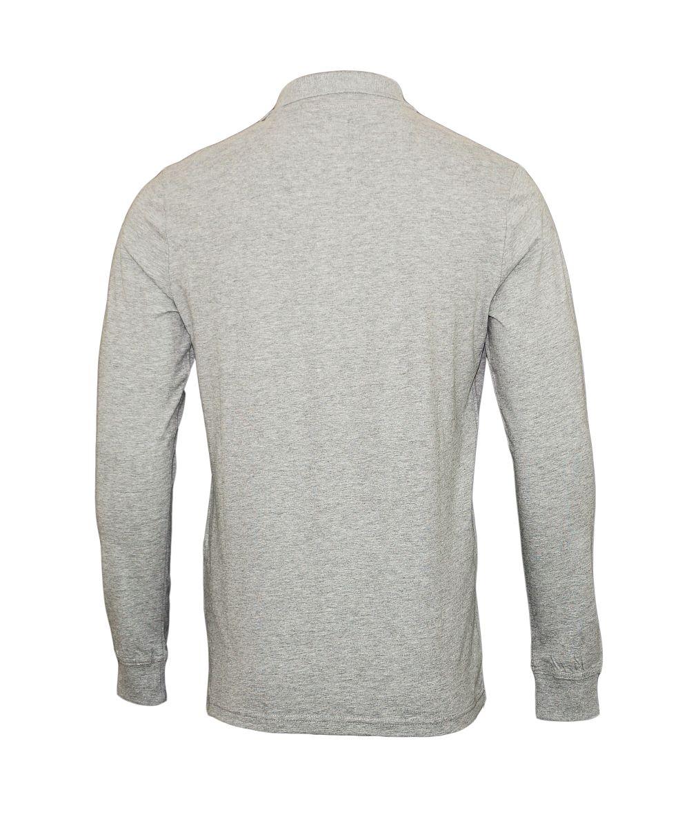 Daniel Hechter Longsleeve Poloshirt 75003 172900 910 grau SH17-DHL1