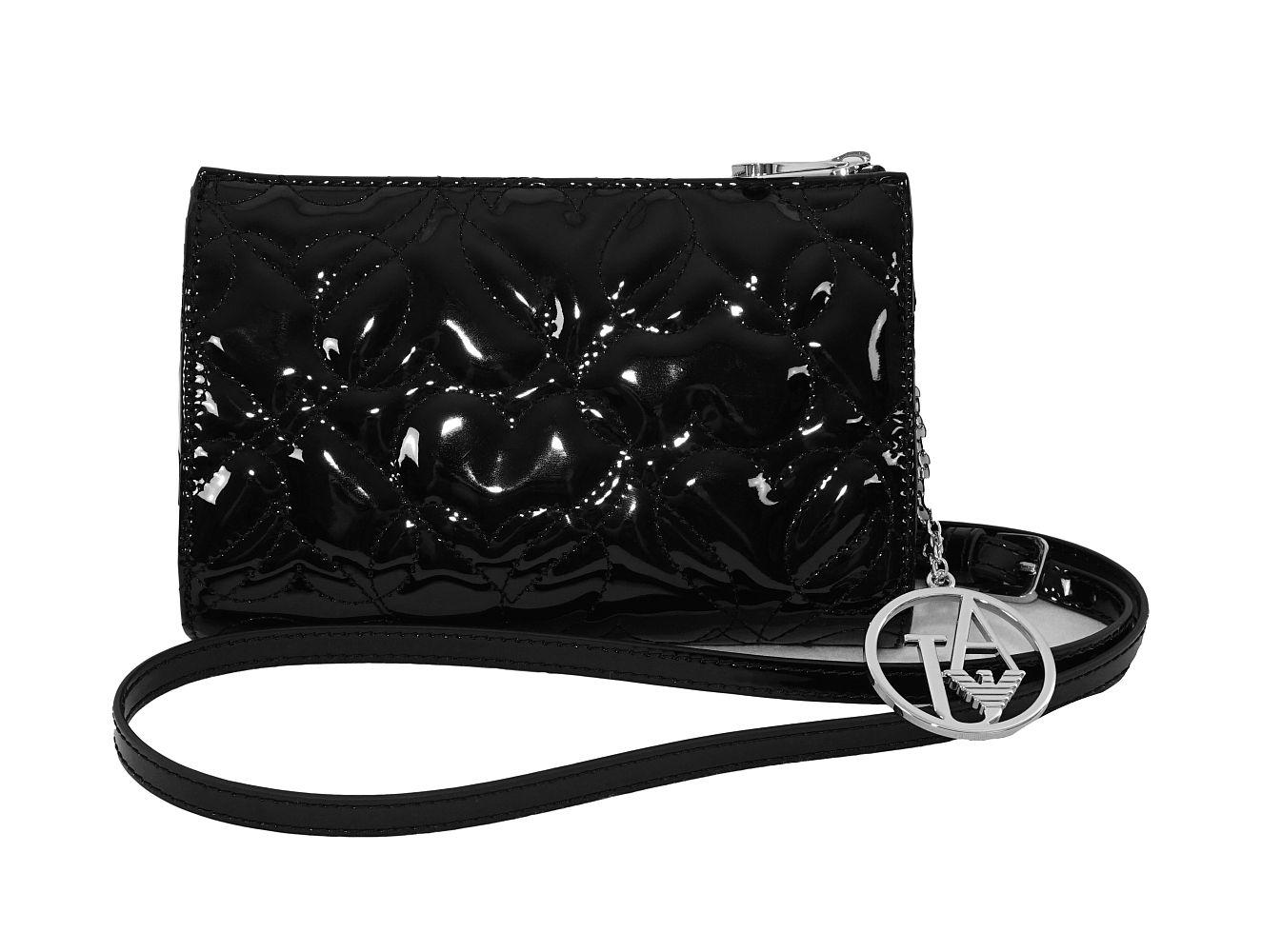 Armani Jeans Tasche Handtasche f. Damen 928582 6A752 00020 Nero HW16-AJn