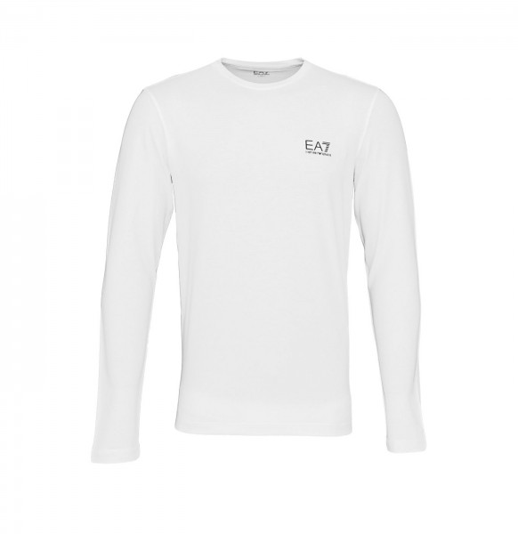Emporio Armani EA7 Longsleeve Sweater 8NPT55 PJM5Z 1100 White