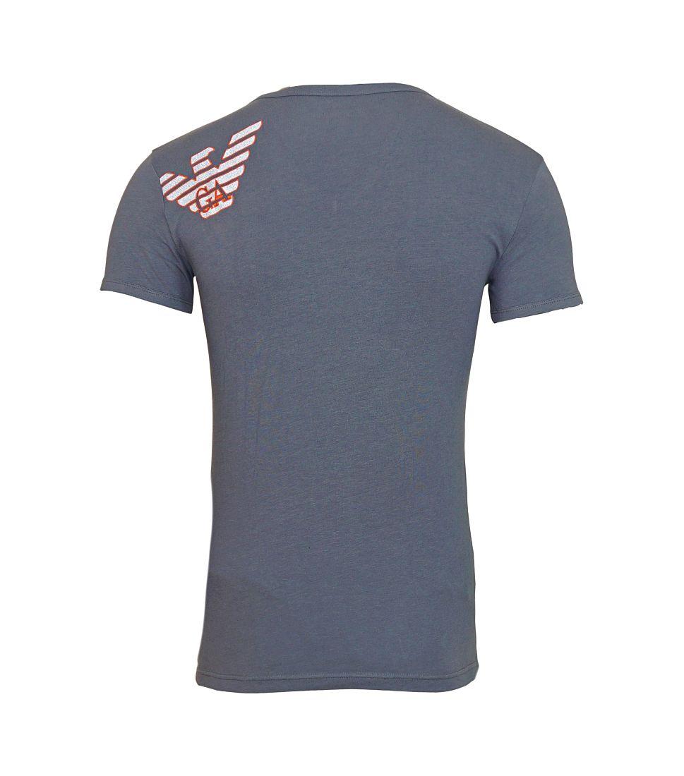 Emporio Armani Shirt T-Shirt anthrazit KNIT T-SHIRT 110810 6A725 00044 ANTRACITE HW16A1