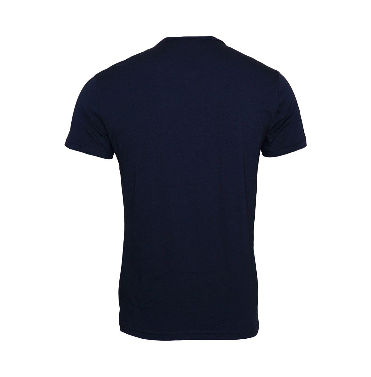 Emporio Armani 2er Pack T-Shirts Rundhals 111267 8P717 18735 MARINE/CIELO W18-EATS1
