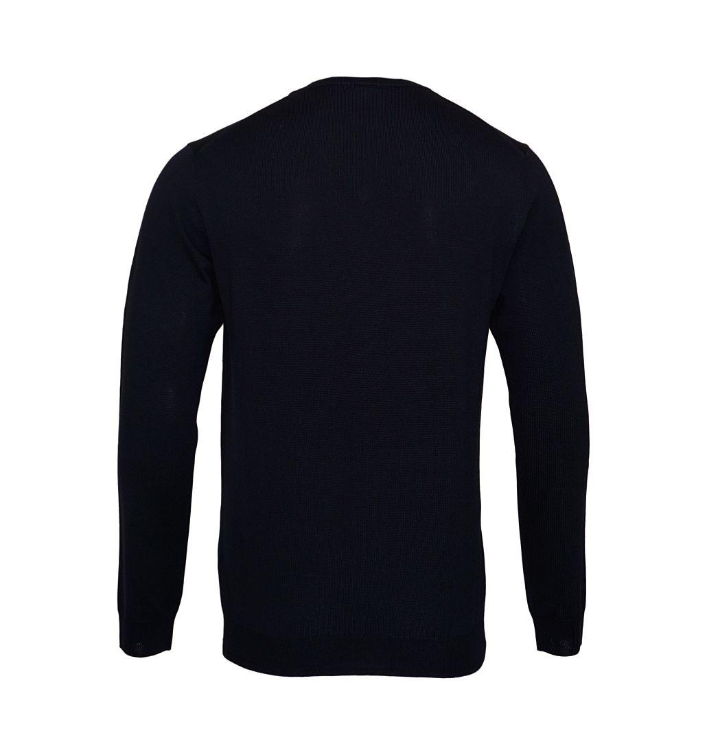 JOOP Strickpullover Pullover Damien V-Ausschnitt 10001600 405 navy S17-JOP1