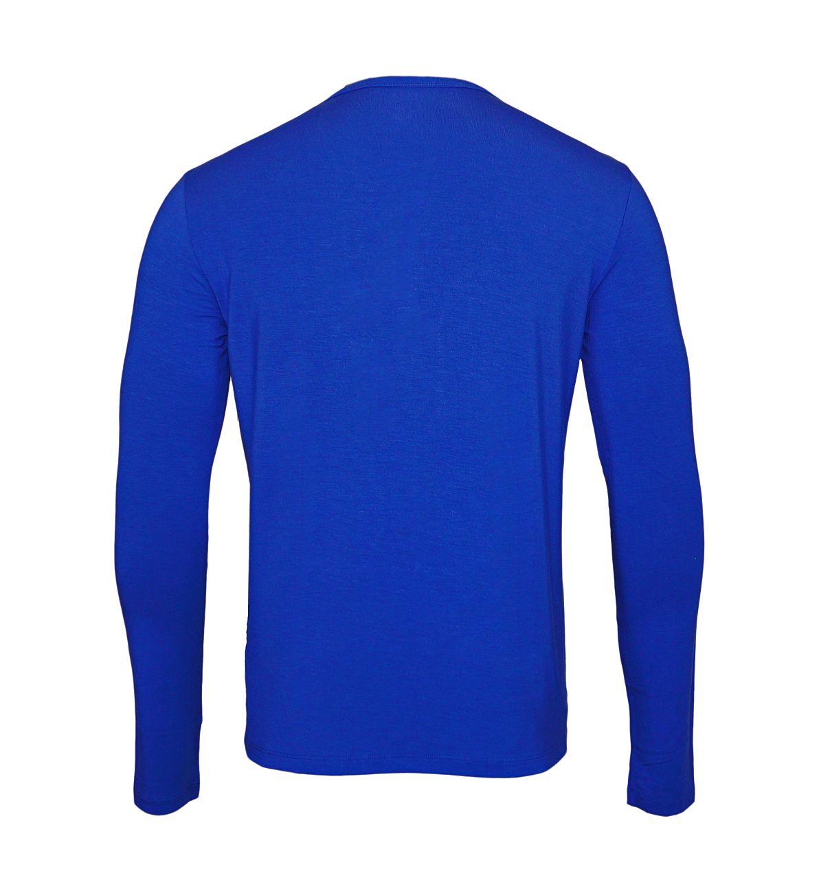 Ralph Lauren Longsleeve Shirt Rundhals 71470517 2001 Charter BL S18-RLLS1
