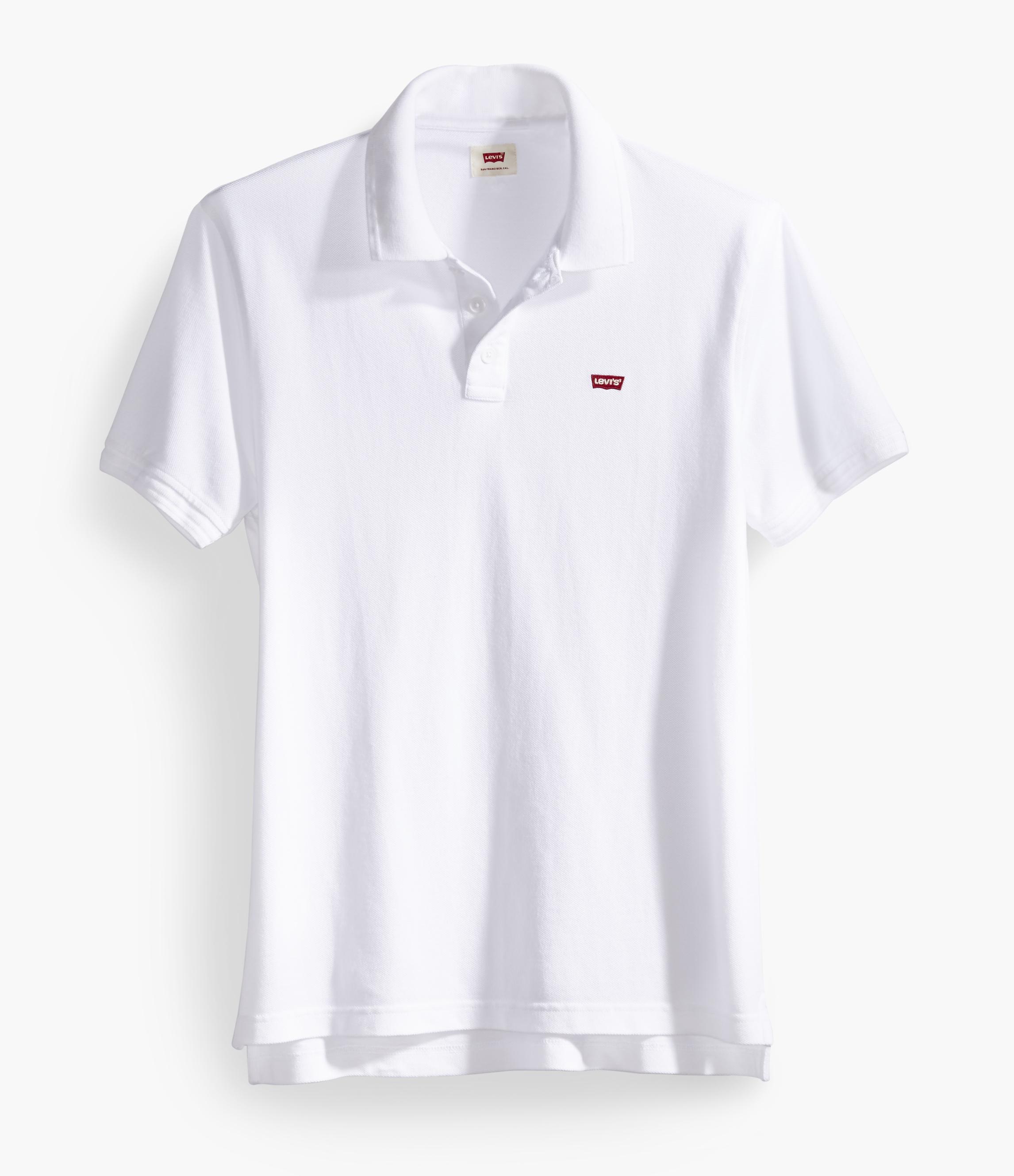 LEVIS Shirt Kurzarm Poloshirt 22401-0001 weiß W18-LVPS1