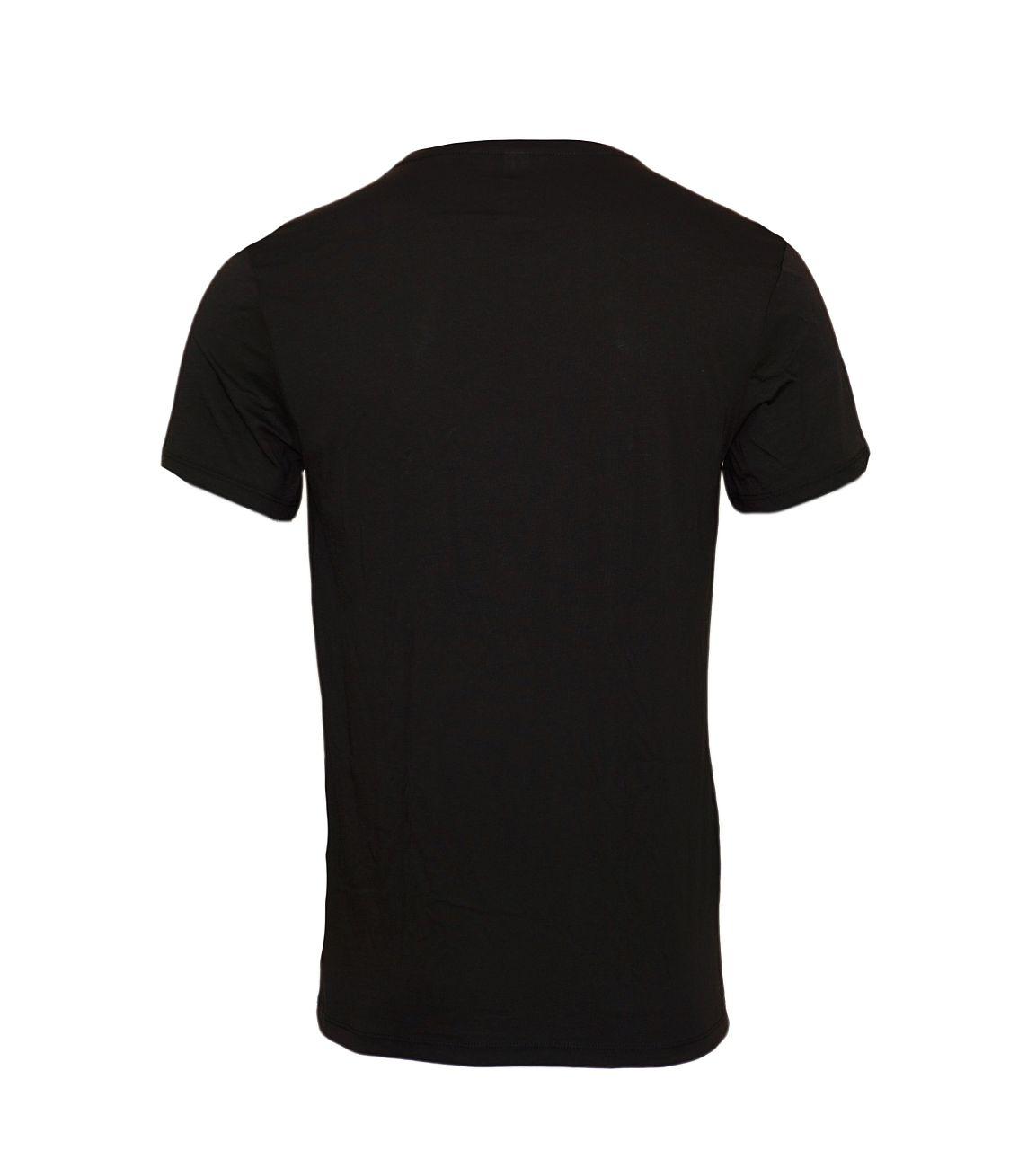 G-Star RAW 2er Pack T-Shirt Regular Fit Rundhals D07202-2757-2019 Solid Black F18-GSP1
