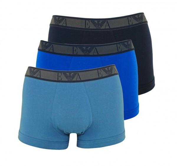 Emporio Armani 3er Pack Trunk Shorts 111357 9A715 61435 multicolor SH19-AB3