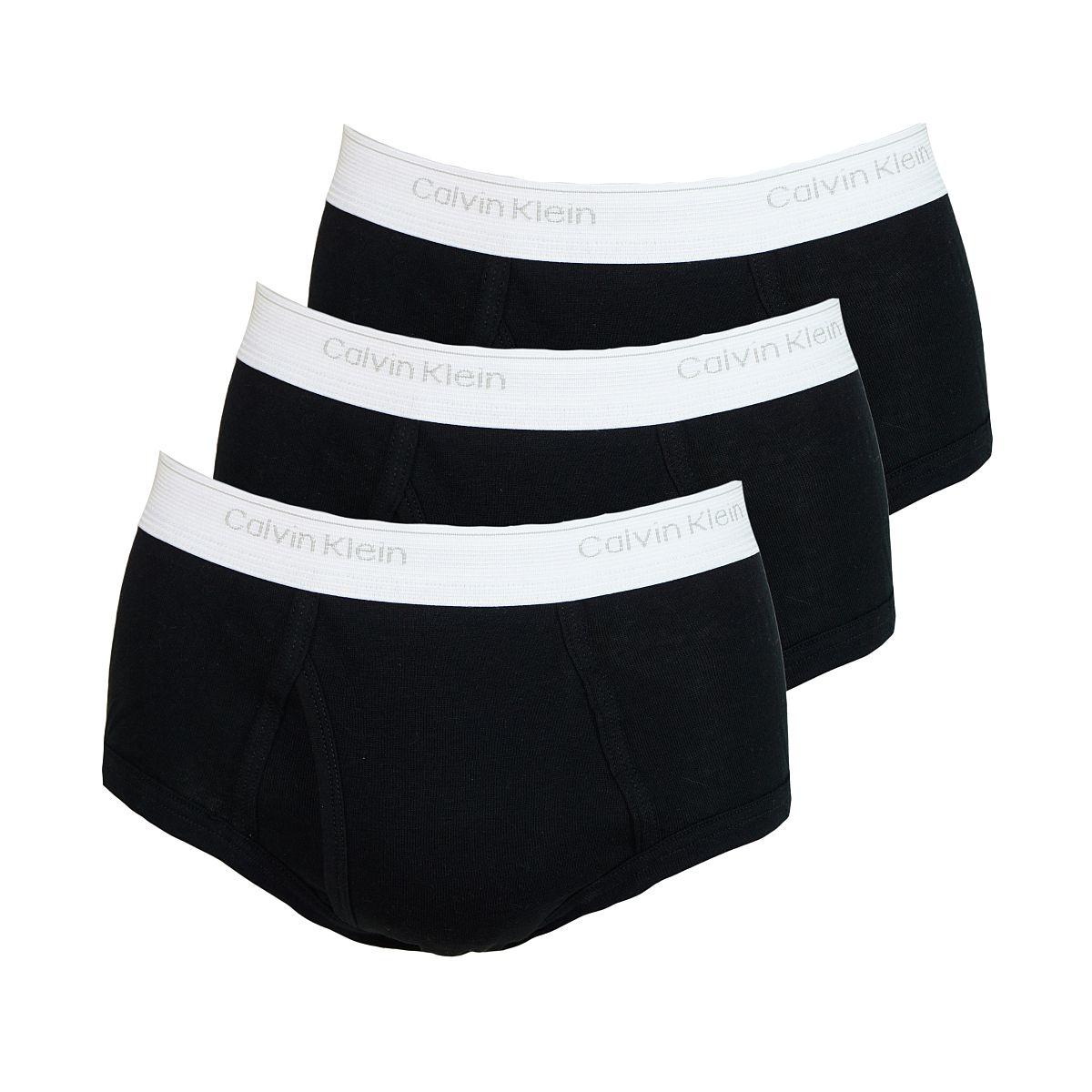 Calvin Klein 3er Pack Slips Shorts CK16 U1000A schwarz