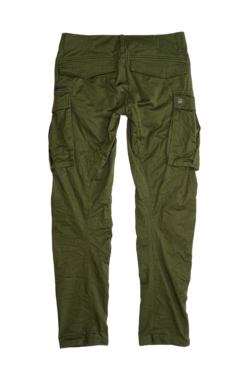 G-Star RAW Hose Rovic Zip 3D Tapered D02190-5126-6059 72 Dr Bronze Green F18-GSC1